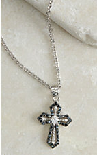 Montana Silversmiths Faith Defined Cross Necklace