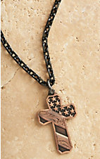 Montana Silversmiths Faded Glory Cross Necklace