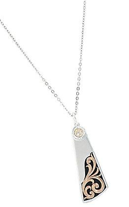 Montana Silversmiths Over the Horizon Rose Gold Necklace