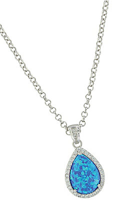 Montana Silversmith River Lights Perfect Drop Necklace