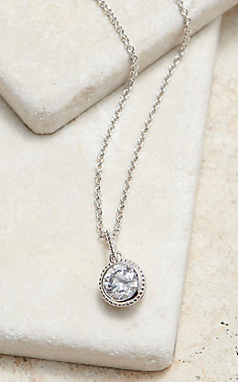 Montana Silversmiths Forever Clear Necklace