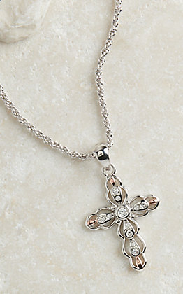 Montana Silversmiths Against the Light Cross Necklace