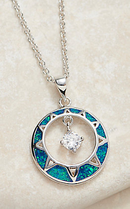 Montana Silversmiths Stay True Opal Necklace