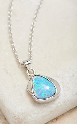 Montana Silversmiths Abstract Opal Necklace