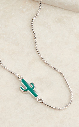 Montana Silversmiths Two Sides To Every Cactus Necklace