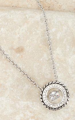 Montana Silversmiths Silver Dancing Arena Necklace