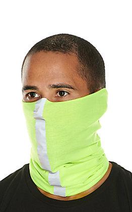 John Boy Neon Yellow Reflective Face Guard