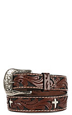 Ranger Belt Company Children's Brown Cross Leather Belt