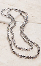 Crooked Fence Sparkle Multicolored 60 in. Necklace