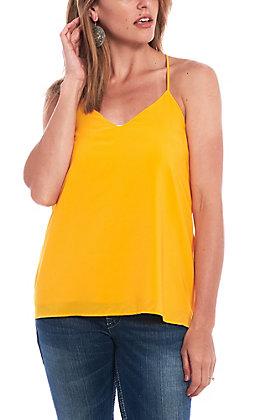 Newbury Kustom Women's Solid Gold Tank Top