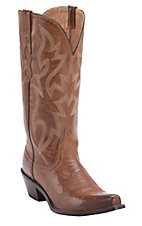 Nocona Women's London Tan Snip Toe Western Boots