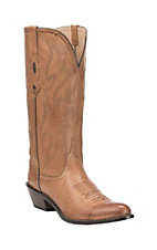 Nocona Women's Burnished Tan Western Snip Toe Boots