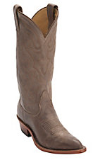 Nocona Ladies Tan Vintage Cow J-Toe Western Boots