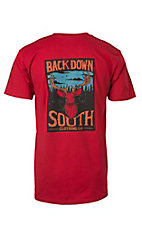 Back Down South Cardinal Short Sleeve Tee