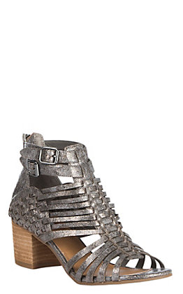 Not Rated Ofanto Women's Pewter Gladiator Sandal