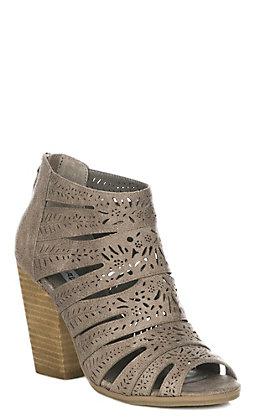 Not Rated Santos Women's Grey Sandal