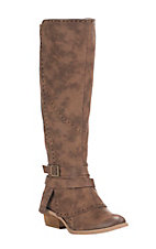 Not Rated Women's Yoko Ono Tan Fashion Boots