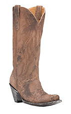 Old Gringo Women's Rio Leopard Ocre Goat Snip Toe Western Boots