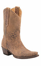 Old Gringo Women's Tan Leopardito Snip Toe Western Fashion Boots