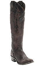 Old Gringo Women's Mayra Distressed Chocolate Tall Round Toe Western Fashion Boots