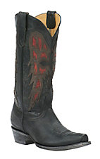 Old Gringo Yippee Ki Yay Women's Black Joan of Arc Snip Toe Western Boots