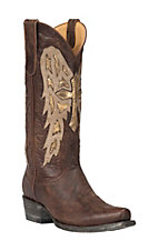Old Gringo Yippee Ki Yay Women's Brass Joan of Arc Snip Toe Western Boots