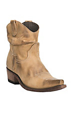 Old Gringo Yippee Ki Yay Women's Beige Slouch Shorty Snip Toe