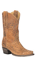 Yippee Ki Yay by Old Gringo Women's Leopardito Leather Snip Toe Boots
