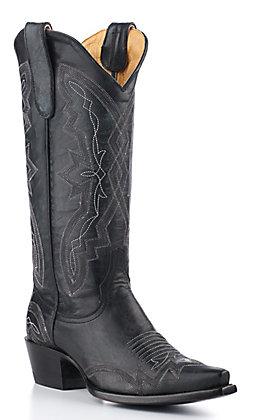 Old Gringo Yippee Ki Yay Women's Black Snip Toe Western Boots