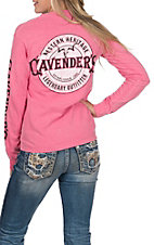 Cavender's Women's Airhead Strawberry Long Sleeve T-Shirt