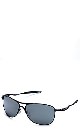 Oakley Crosshair Matte Black with Prizm Black Lenses Sunglasses