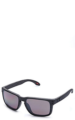 Oakley Holbrook Woodgrain with Prizm Daily Polarized Lenses Sunglasses
