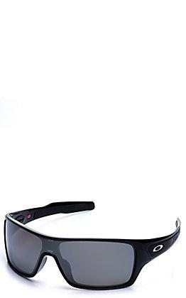 Oakley Turbine Rotors Polished Black with Prizm Black Polarized Lenses Sunglasses