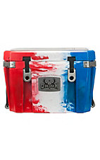 Orion 35 Red, White, and Blue Cooler