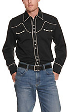 Scully Western Legends Black with Cream Piping