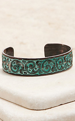 Amber's Allie Patina Cuff Bracelet