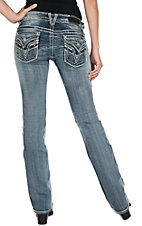 Vigoss Women's The New York Boot Cut Medium Wash Jean