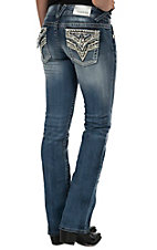 Vigoss Women's The New York Boot Cut Light Wash Jean