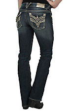 Vigoss Women's The New York Boot Cut Dark Wash Jean P6957A