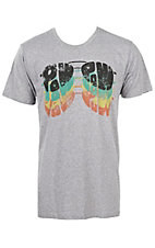 Dale Brisby by Rock & Roll Panhandle Men's Grey Pow Pow T-Shirt