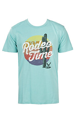 Dale Brisby by Rock & Roll Cowboy Men's Rodeo Time Short Sleeve T-Shirt