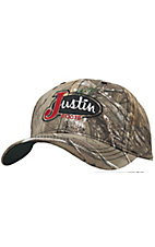 Justin Boots Realtree Camo with Embroidered Logo Cap