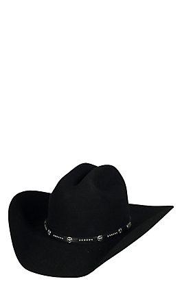 Cavender's 3X Lampasas Black Premium Wool Cowboy Hat