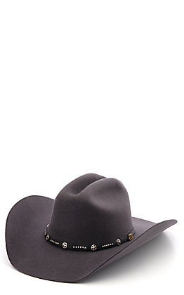Cavender's Cowboy Collection 3X Lampasas Smoke Grey Cowboy Hat