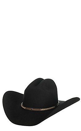 Cavender's Cowboy Collection 3X Black Pistol Creek Premium Wool Cowboy Hat