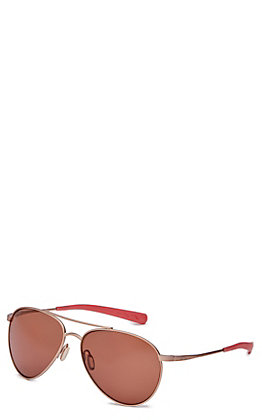 Costa Piper Copper Satin Rose Gold Sunglasses