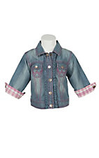 All Around Baby Denim Ruffle Jacket