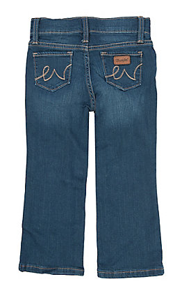 Wrangler Toddler Girls' Embroidered Jeans