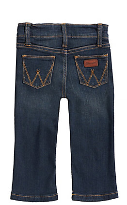 Wrangler Baby Boy Medium Wash Adjustable Waist Jeans