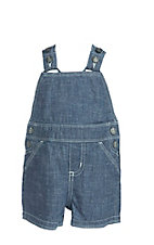 Wrangler Boy's Denim Western Short Overalls